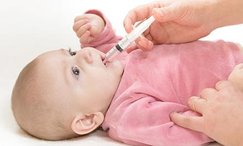 Bebeklerde Pamukçuk Tedavisi