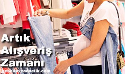 hamilelikte alışveriş