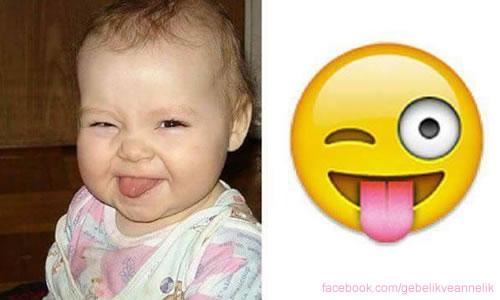 Dil Çıkaran Bebek