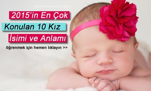 2015 kiz bebek isimleri