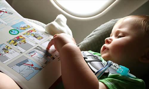 bebekle ucak yolculugu