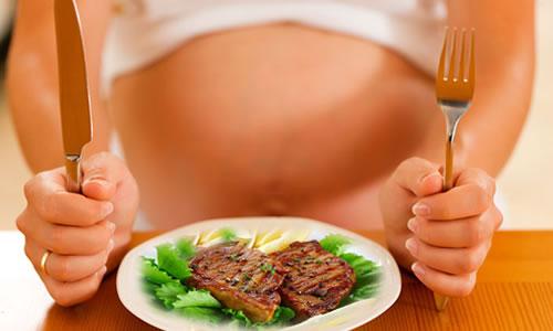 hamilelikte et yemek