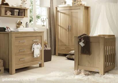 ahsap bebek odası dekorasyonu