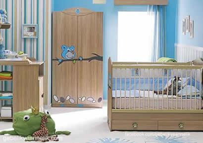 eğlenceli bebek odası dekorasyonu
