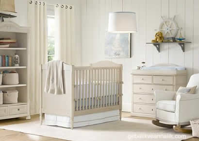 klasik bebek odası dekorasyonu