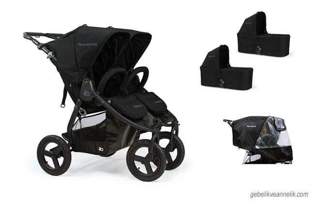 Bumbleride Indie Twin İkiz Bebek Arabası