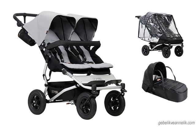 Mountain Buggy Duet V3 İkiz Bebek Arabası