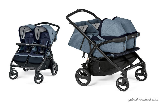 Peg-Perego Book For Two İkiz Bebek Arabası