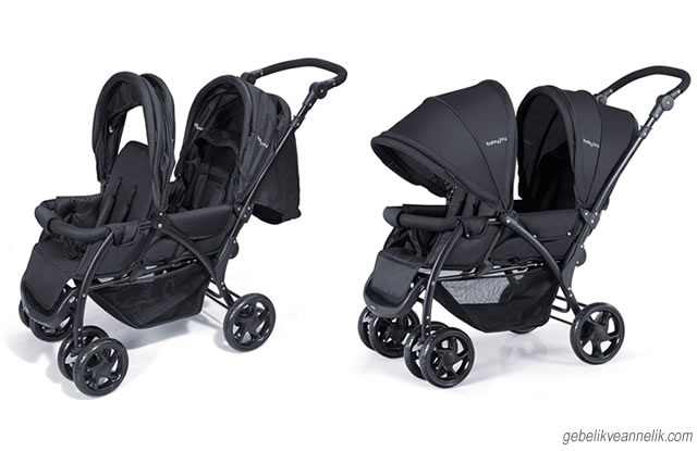 Baby Joy İkiz Bebek Arabası