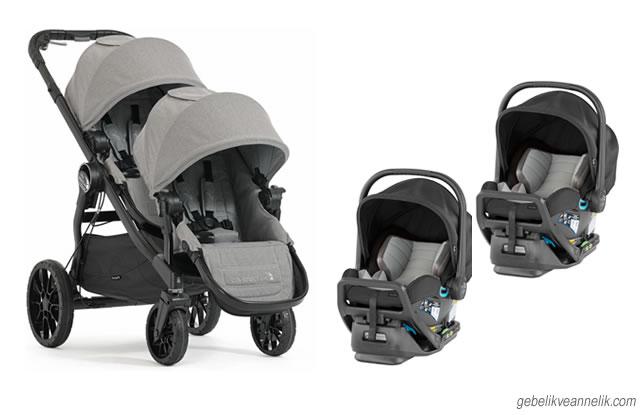 Baby Jogger İkiz Bebek Arabası