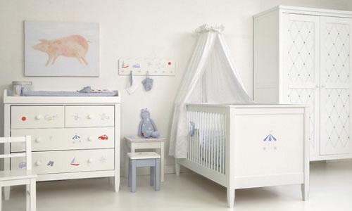 Bebek Odası Mobilya Rengi
