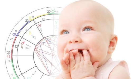 bebek burçları ve astroloji