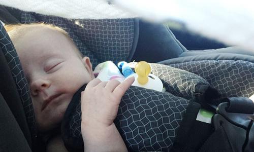bebekle seyehat etmek