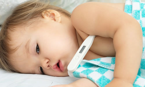 bebeklerde ates siniri ne