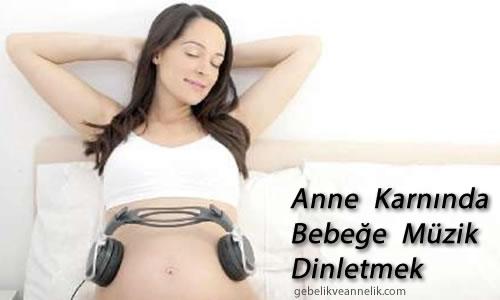 Hamilelikte Anne Karnında Bebeğe Müzik Dinletmek