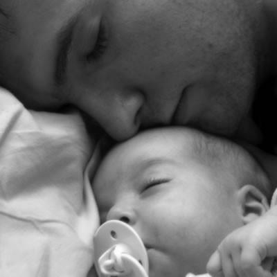 Babalarla Bebeklerin Uykulu Halleri