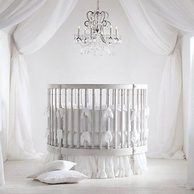 Beyaz Renkli Bebek Beşik Modelleri