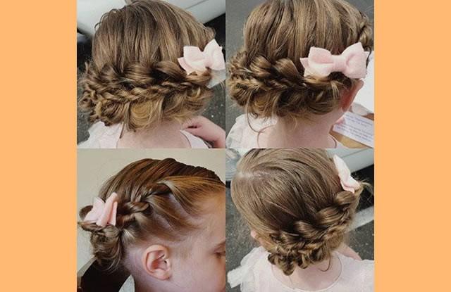 Kız Çocuklar İçin Saç Modelleri