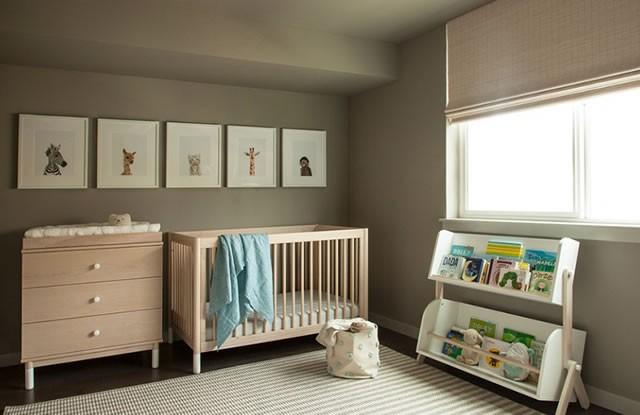 8 Minimalist Bebek Odasi Dekorasyon Ornegi
