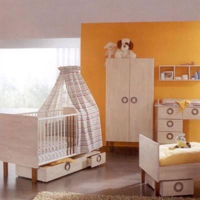 Turuncu Bebek Odası Dekorasyon Fikirleri