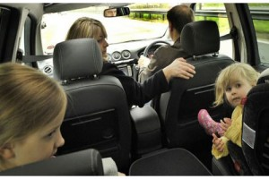 Bebek ile Uzun Araba Yolculuğu