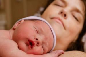 Göğüsümde Bebeğim Çok Mutluydum