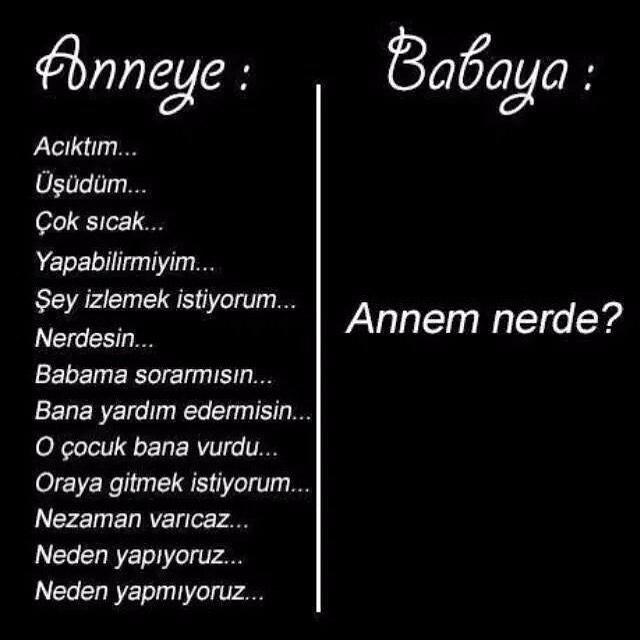 #anne #baba #sorular